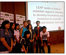 Winrock's LEAF featured in USAID's Students with Solutions 2012 mobile application contest.