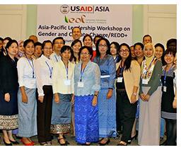 LEAF workshop helps create network of 'gender champions' across Asia-Pacific region
