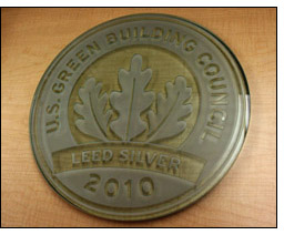 Winrock earned a Silver LEED rating for its D.C. area office.