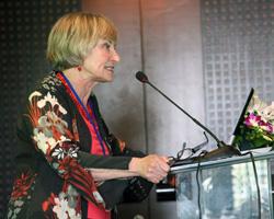 Dr. Sandra Brown Speaks at the Lower Mekong Subregion REDD+ Workshop