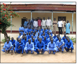 The Sudan BRIDGE program helped a vocational training center in Southern Sudan reopen after 20 years.