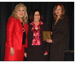 Winrock's Annett Pagan was honored by the U.S. Small Business Administration.