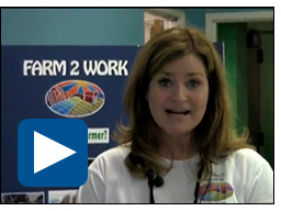 Diane Rose of Farm 2 Work discusses the help she received from Winrock.