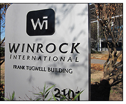 """Winrock board passes resolution naming the headquarters in Arkansas, the """"Frank Tugwell Building."""""""