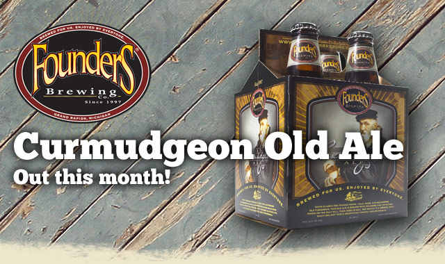 Curmudgeon Old Ale: Out this month!