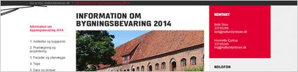 Information om Bygningsbevaring