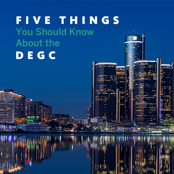 "Image of Detroit, Michigan skyline: ""Five Things You Should Know About the DEGC"""