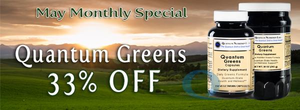Quantum Greens - 33% Off