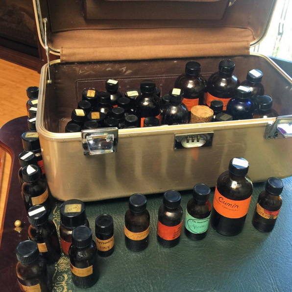 """Vintage"" essential oils from the Dhyana Center"