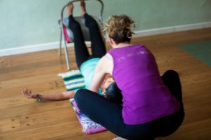 gentle yoga and massage