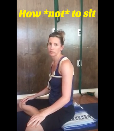 Michelle Marlahan on healthy sitting posture