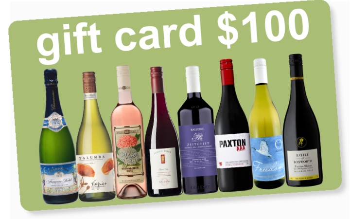 Gift Cards from organicwine.com.au