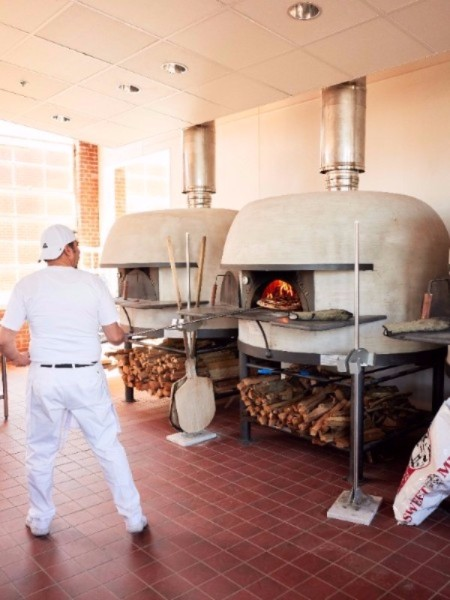 pizza ovens at Cugino Forno Neapolitan Pizza