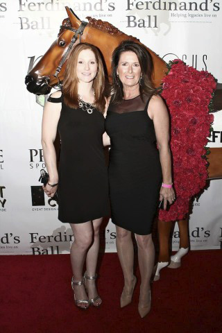 American Jockey Rosie Napravnik and the Artist Donna B