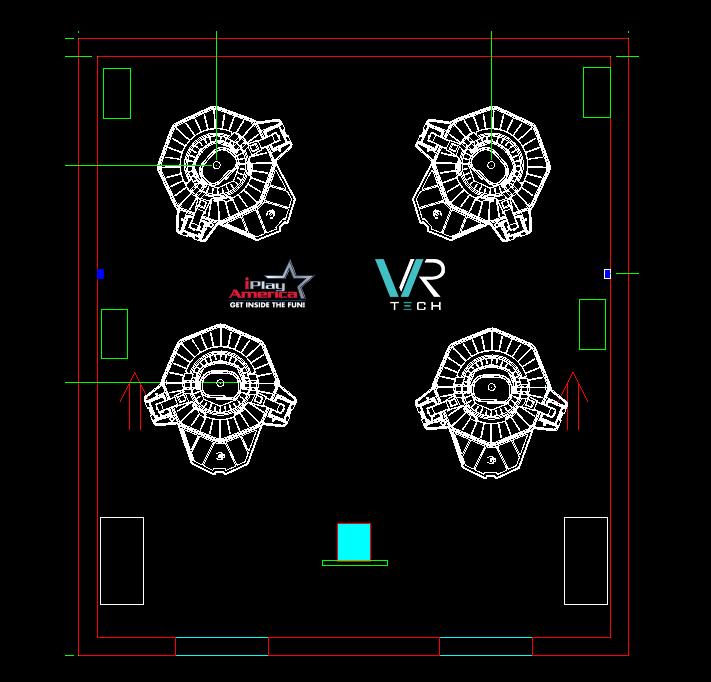 iPlay Omni Setup Floorplan