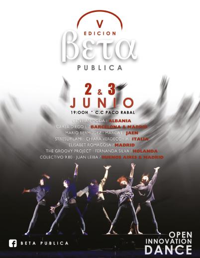 Cartel oficial de la V edición de Beta Pública