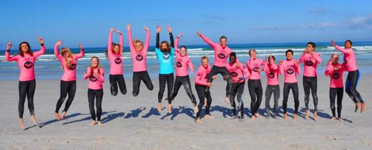 Roxy Surf School Team
