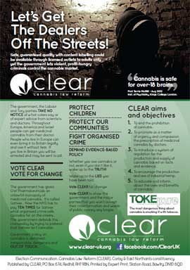 CLEAR Election Leaflet Page 2