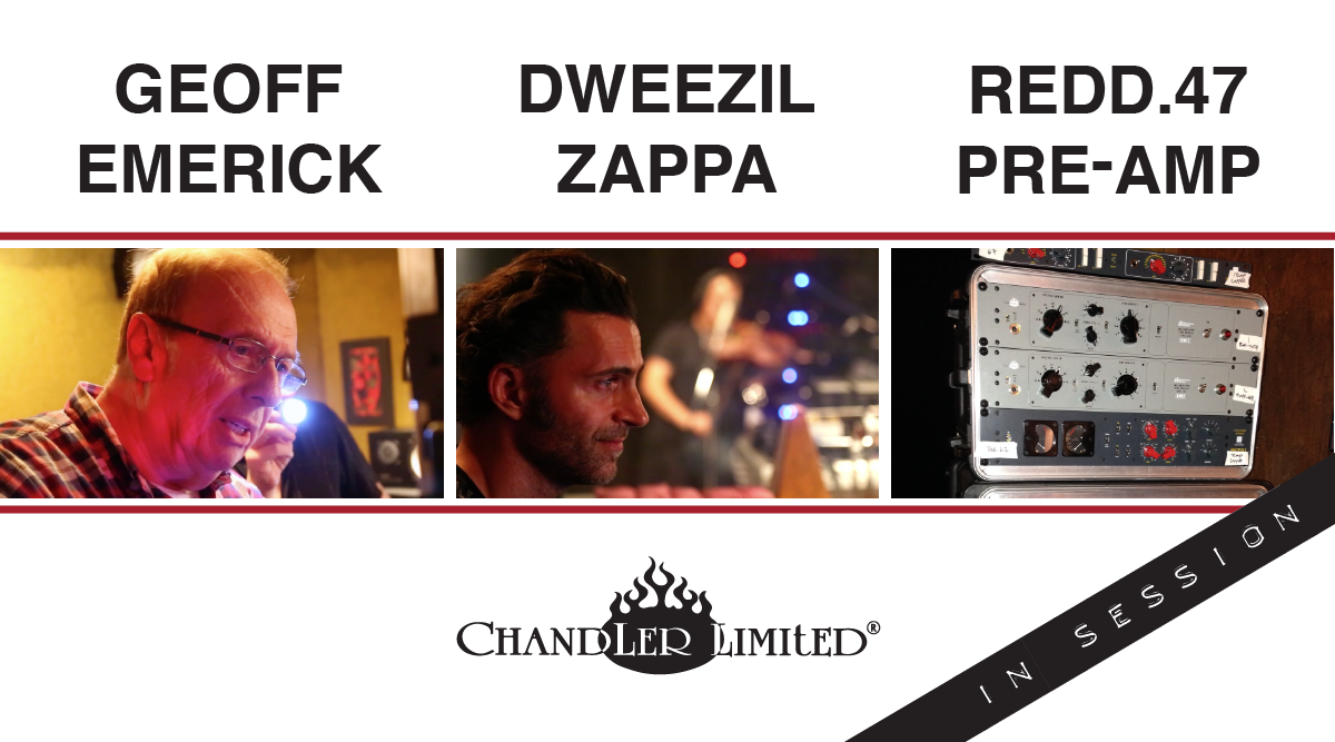 Chandler limited - Dweezil Zappa - In Session