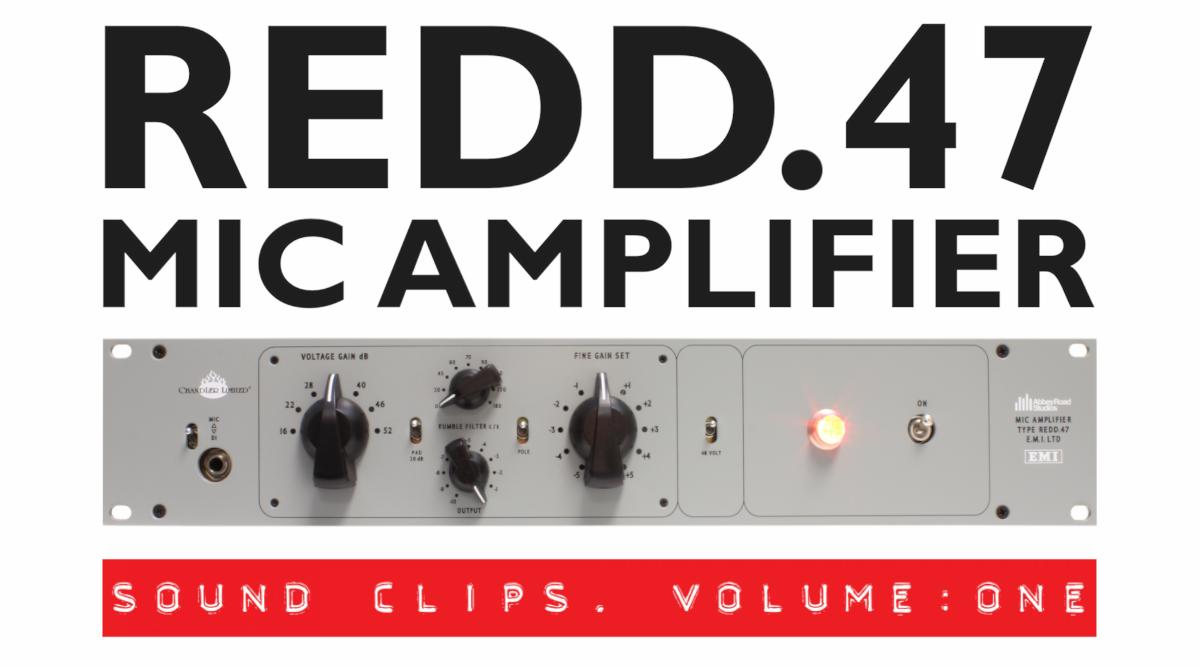 Chandler limited - REDD.47 Mic Amplifier