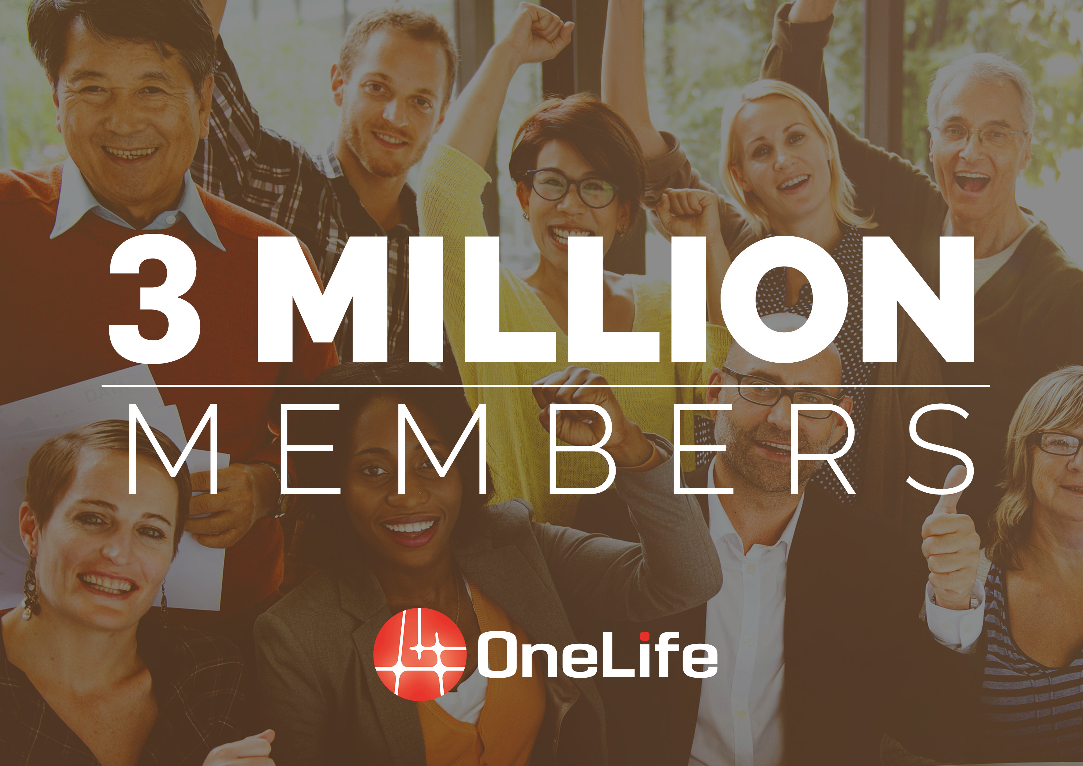 3 million members