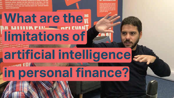 The limitations of artificial intelligence in personal finance