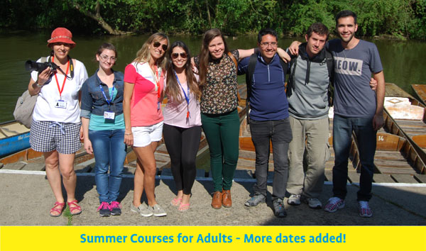 Summer Courses for Adults
