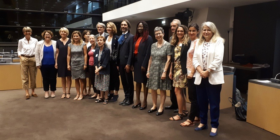 Femmes et sciences: réunion commune de la délégation aux droits des femmes de l'Assemblée nationale et du Sénat et de l'OPECST, le 28 juin 2018 - © Assemblée nationale
