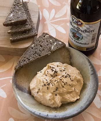 Liptauer & Danish rye bread