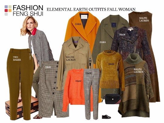 Elemental Earth Outfits for Fall