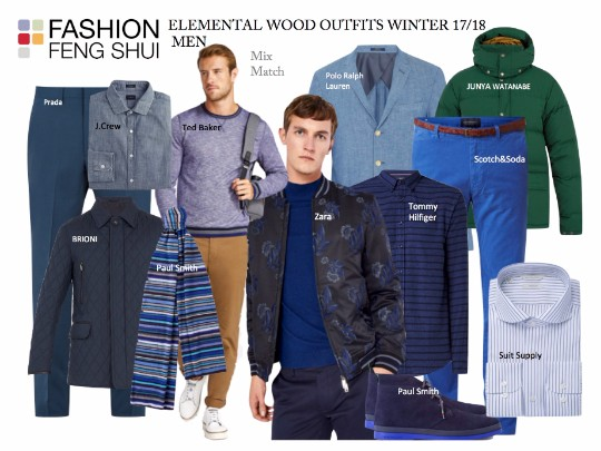 Elemental Wood Outfits for Fall