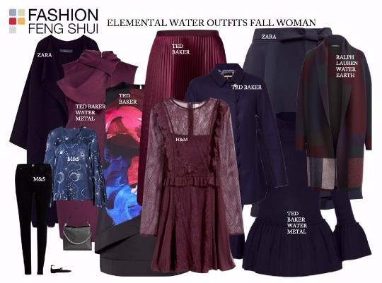 Elemental Water Outfits for Fall