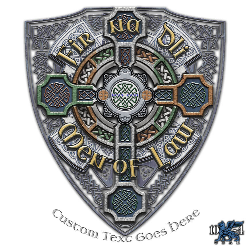 Fir Na Dli Celtic Cross