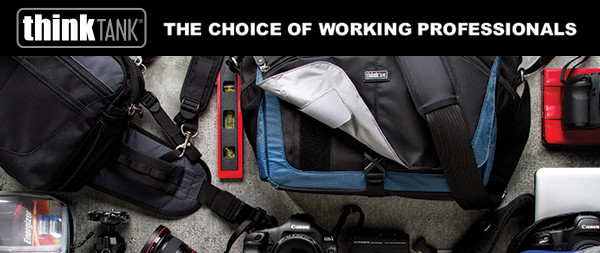 Enter To Win $1000 Think Tank Photo Gear