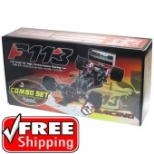 3Racing 1:10 Formula 1 Racing Car w/ Speed Passion Reventon S Brushless System ESC 17.5R #KIT-F113SP FREE SHIPPING