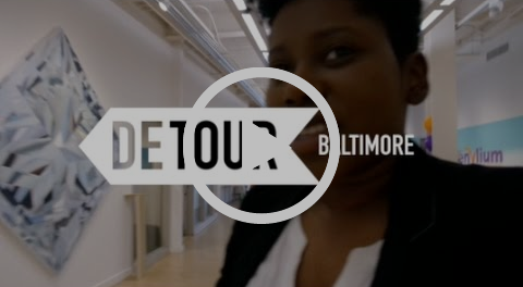 The Day I Talked about Sticky Notes and Mental Health in Baltimore | DETOUR