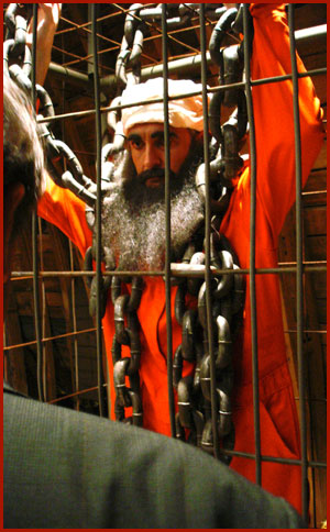 Osama in the Cage of Terror