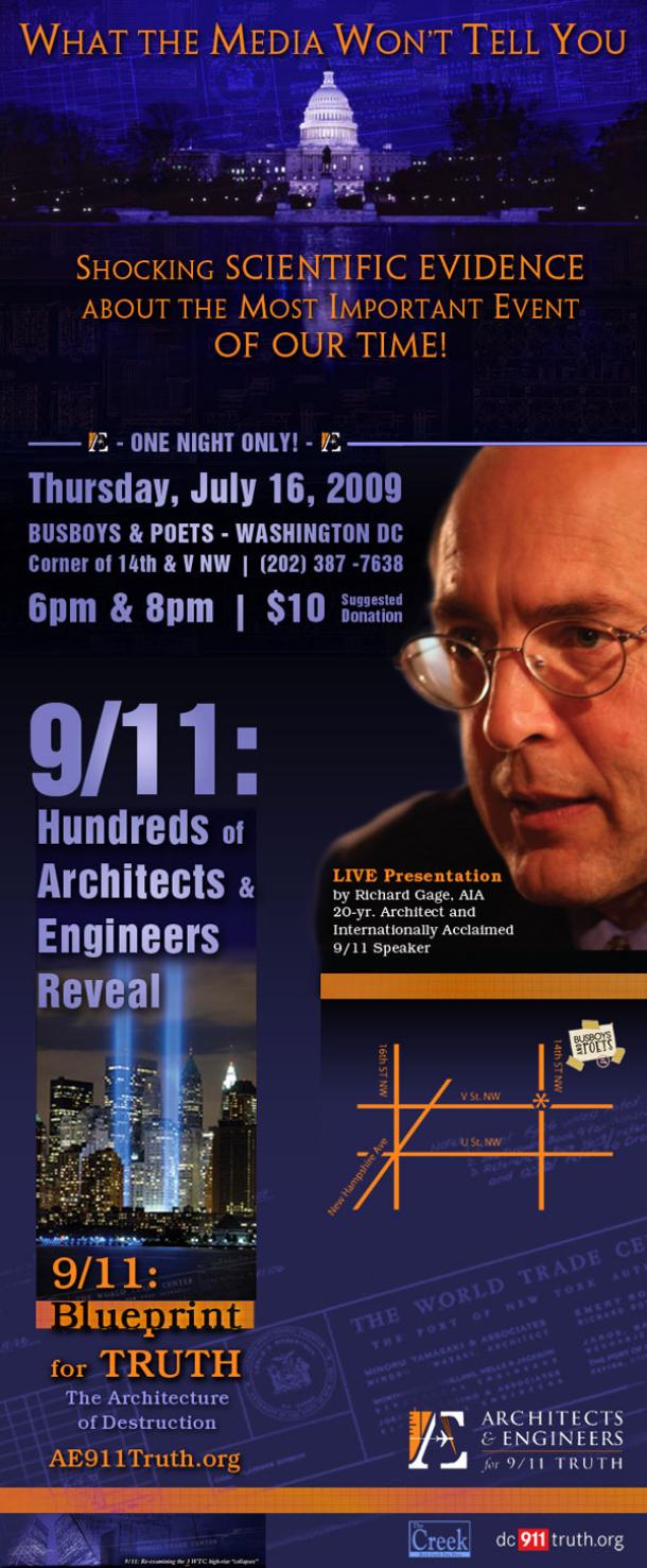 AE911Truth to Speak in Washington DC
