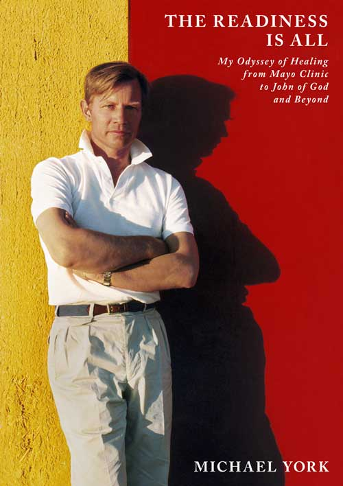 cover of michael york's book the readiness is all