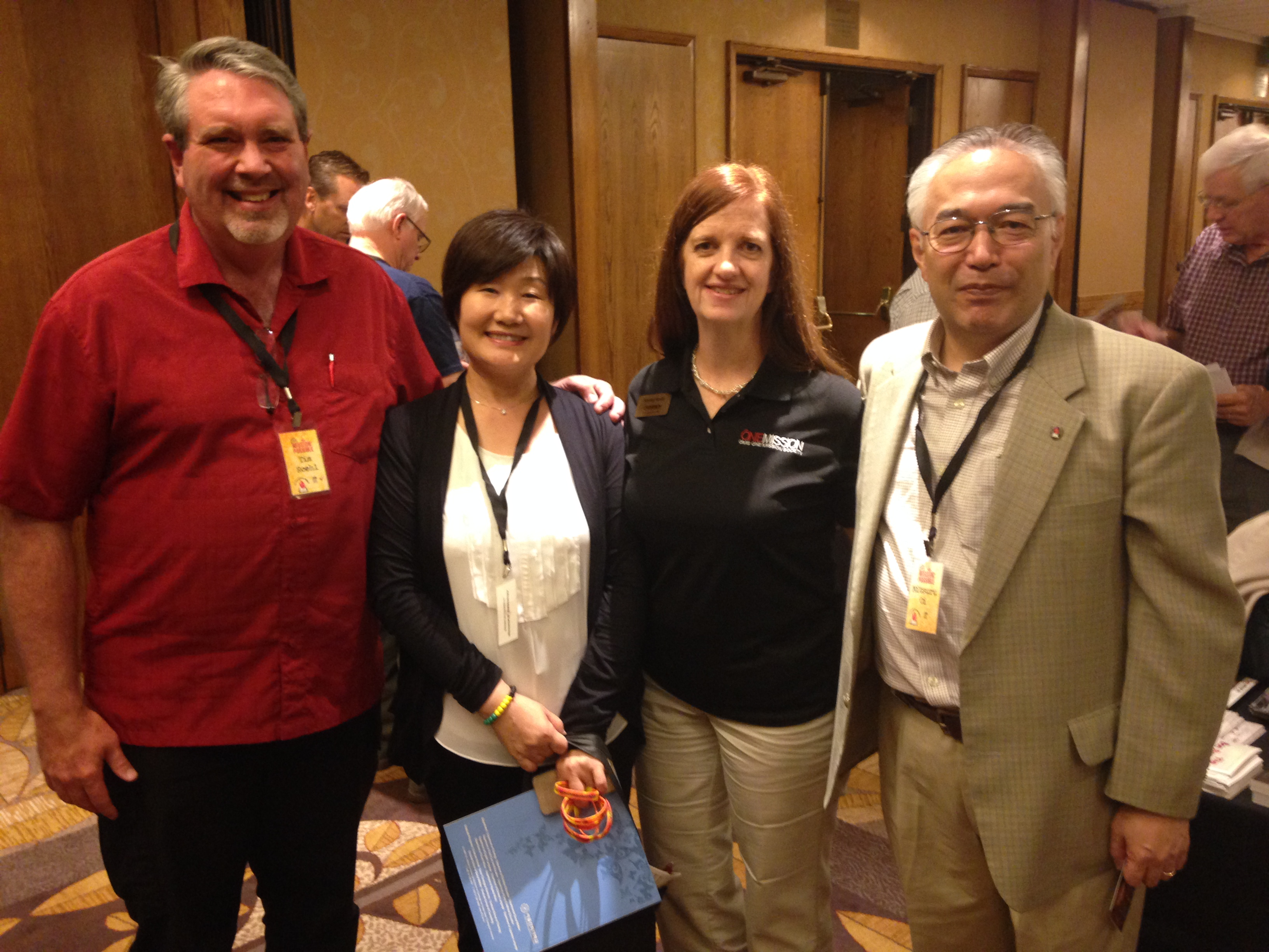 With Japanese Leaders at General Conference