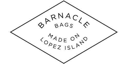 Barnacle Bags. Made on Lopez Island.
