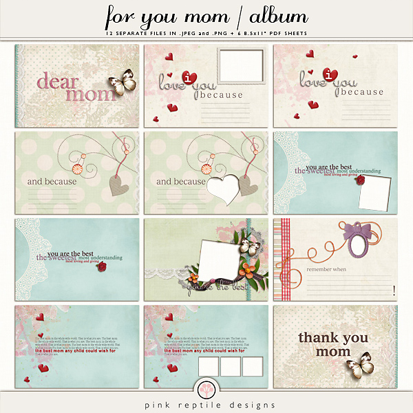 http://the-lilypad.com/store/For-You-Mom-Mini-Album.html