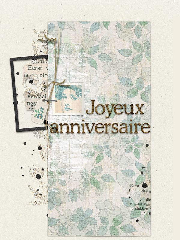 birtdaycard by gaëlle