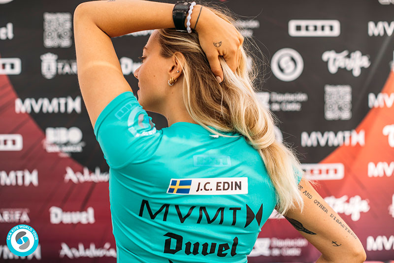 Johanna Catarina Edin - she's in! World Cup Tarifa