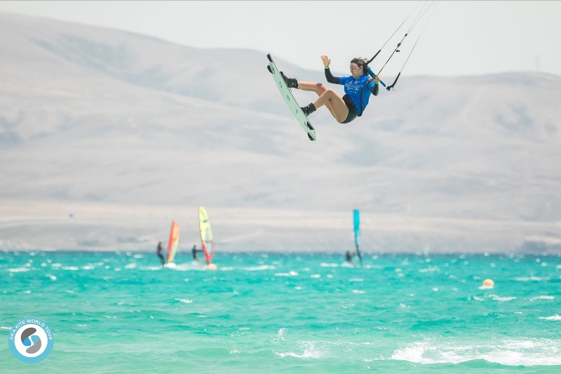GKA Freestyle World Cup Fuerteventura - Bruna Kajiya