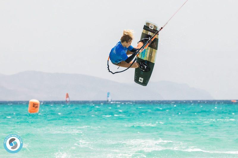 GKA Freestyle World Cup Fuerteventura - Paula Novotna