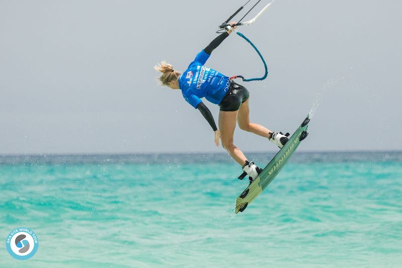GKA Freestyle World Cup Fuerteventura - Therese Taabbel