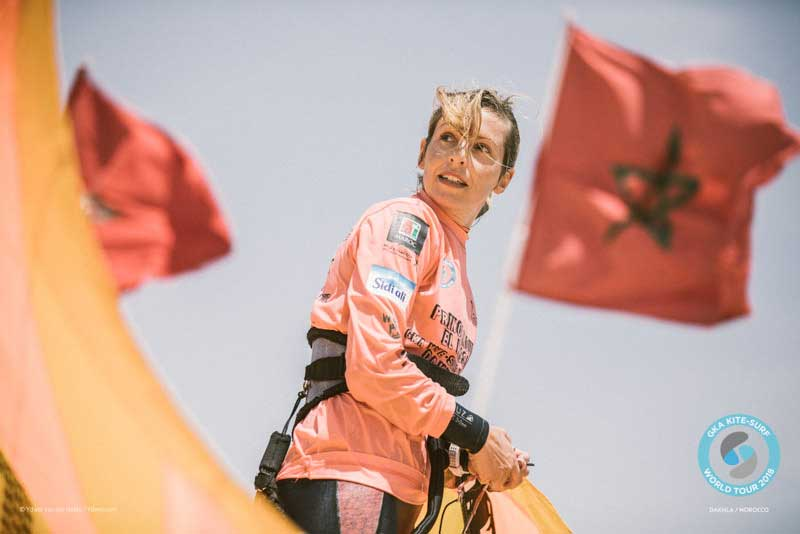 GKA Kite-Surf World Tour Dakhla 2018 Finals - Marie Gautron