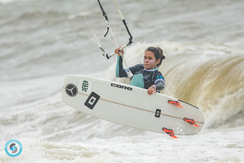 Charlotte Carpentier GKA Kite-Surf World Cup Sylt 2019