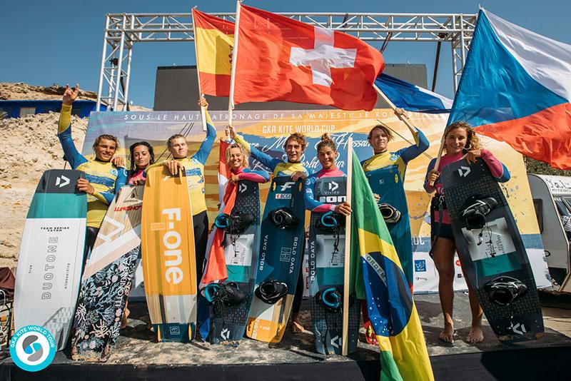 Game of Kite podium